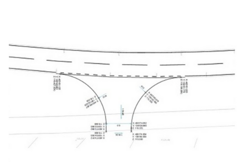 Success! Full Planning approval for a new visibility splay and Farm Access in Surrey