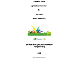 Agricultural Statements